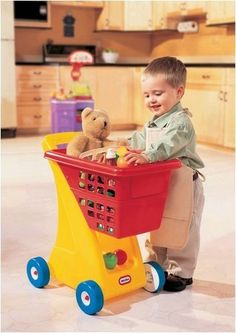 Shopping Cart- primary colors *** This is an Amazon Affiliate link. Details can be found by clicking on the image.
