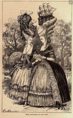 Maria Antonieta y la Princesa de Lamballe