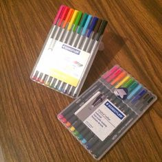 Best No Bleed Pens for planners, notebooks, and art