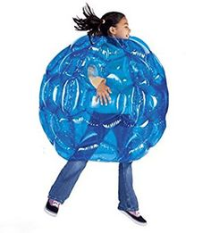 HearthSong Blue BBOP Buddy Bumper Ball Inflatable Blow Up Giant Wearable Body Bubble Zorb Soccer Suit Durable PVC Vinyl Outdoor Active Play Diam in Inflatable Bouncers & Bouncy Castles. Backyard Birthday, Backyard Toys, Kids Outdoor Play, Outdoor Toys, Outdoor Games, Bag Toss Game, Giant Inflatable, Yard Games, Pvc Vinyl