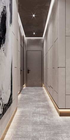 Hotel Hallway, Hotel Corridor, Corridor Design, Entrance Design, Flat Interior Design, Modern House Design, Interior Detailing, Wall Cladding Interior, Hotel Lobby Design