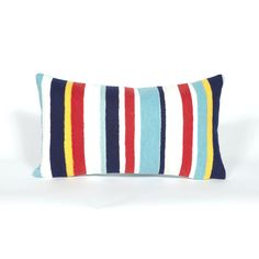Trans-Ocean Imports 7SC1S418744 Visions Iii Collection Multi Finish Pillow