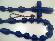 Giant Wall Rosary with a Box of Crayons Chaplet