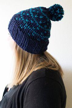 Fair Isle Chunky Knit Beanie Fair Isle Chunky by knittingbyali