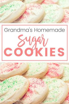 The softest easy to make sugar cookie that your family will love. Make these for any occasion or holiday—Valentines, Christmas, Birthday, Easter, etc. Just like Granny used to make!