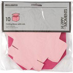 Mini æsker pink-rosa farvet til konfirmation og konfirmation