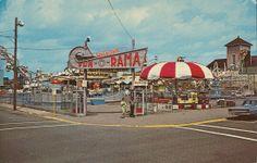 Shaheen's Fun-O-Rama Park. Salisbury Beach, Massachusetts. #salisburybeach