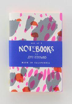 Patterned Notebooks | Jenny Pennywood