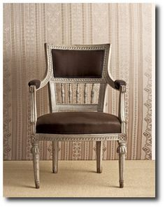 Gustavian Chair - Editorial About Gustavian Furniture On Country Living