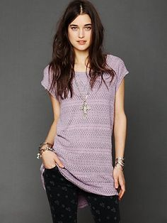 Free People Knitted Lounge Dress