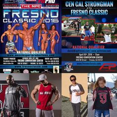 Downtown Campbell: The Fresno Classic Fit Expo is coming to Fresno CA. Next weekend  Mark your calendar  for Saturday April 16th and come hangout with the Cali Muscle Crew at the Fresno Convention Center. Bodybuilding strong man powerlifting Figure Bikini and Physique and so much more - it's going to be an awesome show/ EXPO by @musclesportproduction! Who's coming out - - #calimuscle #itsalifestyle #calimuscleapparel #dedication #FresnoClassic #npc #ifbb #Fresno #California #WestCoast…