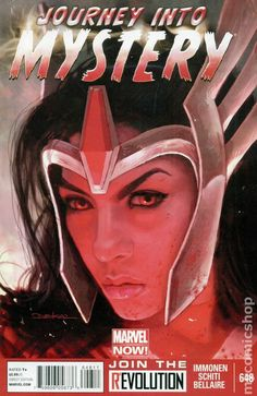 Journey into Mystery (2011 3rd Series) 648A Marvel Comics Modern Age Comic book covers Super Heroes Villians