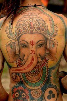 Wow! Ganesh tattoo ♥