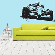 Wall Vinyl Sticker Decals Decor Art Bedroom Formula 1 Sport Car Racing (z1118)