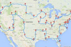 The ultimate road trip! God I will do this one day! I've done everything else I've said I'd do;)