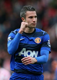 RVP  You are a great player even if you went with Man U- ewww..  LOL