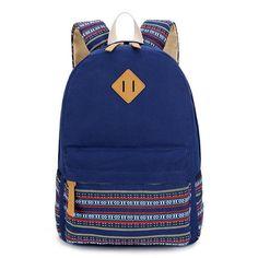 SUNBORLS Brand Canvas Printing Backpack Women Cute School Backpacks for Teenage Girls Vintage Laptop Bag Rucksack Bagpack Female