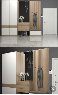 Discover recipes, home ideas, style inspiration and other ideas to try. Wardrobe Door Designs, Wardrobe Design Bedroom, Home Entrance Decor, House Entrance, Apartment Interior, Apartment Design, Home Room Design, Home Interior Design, Hallway Designs
