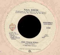 Paul Simon One-Trick Pony by Acvintagevinyl on Etsy