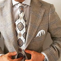 Prefer if open collar and no tie. #mens #fashion #suit