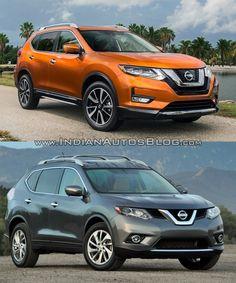 Recap - 2017 Nissan Rogue vs. 2014 Nissan Rogue - In Images