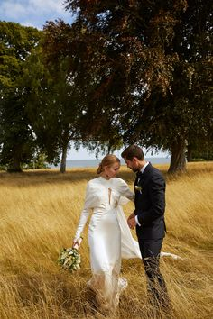 Stylist Alexandra Carl and Filmmaker Jacob John Harmer's Effortlessly Elegant Wedding in Copenhagen