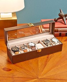 cd25dfe5c $13 Black Keep your favorite watches protected and on display with the  compact 6-Slot