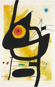 Artworks of Joan Miró (Spanish, 1893 - 1983)