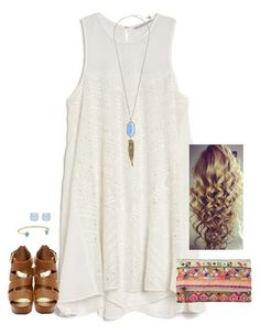 """""""Wake up every morning with the thought that something wonderful is about to happen."""" by kaley-ii ❤ liked on Polyvore"""