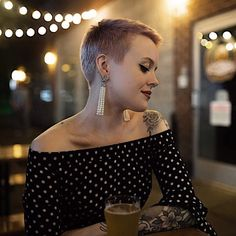 Today we have the most stylish 86 Cute Short Pixie Haircuts. Pixie haircut, of course, offers a lot of options for the hair of the ladies'… Continue Reading → Super Short Hair, Short Hair Cuts, Short Hair Styles, Pixie Cuts, Pixie Buzz Cut, Short Hair Girls, Shaved Pixie Cut, Buzz Cuts, Blonde Pixie