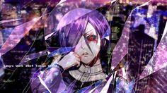 Kirishima Touka Red Eye Tokyo Ghoul Girl Anime 1920×1080