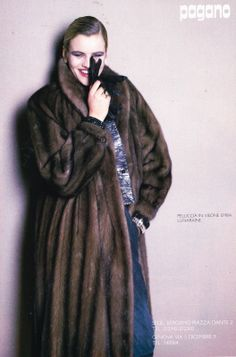 Linea Italiana September 1981 $_57.JPG 1,056×1,600 pixels Mink Fur Coat