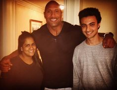 Arpita Khan meets Dwayne Johnson 'The Rock' with Priyanka Chopra's help