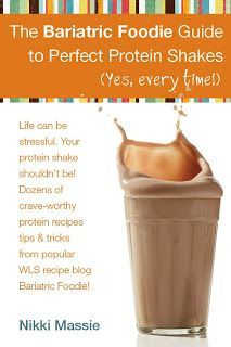 The Bariatric Foodie Guide to Perfect Protein Shakes Re-pinned by Las Vegas Bariatrics www.lasvegasbariatrics.com Like us on Facebook:www.facebook.com/lvbweightloss Twitter: @Las Vegas Bariatrics