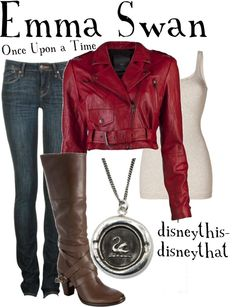 """OUAT - Emma Swan"" by disneythis-disneythat ❤ liked on Polyvore"