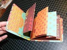 mini scrapbook tutorial