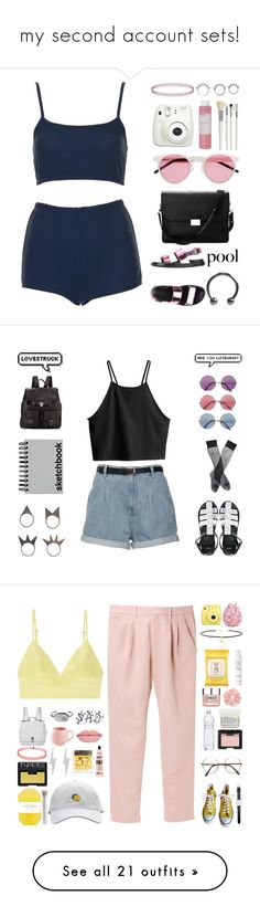 """""""my second account sets!"""" by blood-under-the-skin ❤ liked on Polyvore featuring modern, Fujifilm, Opening Ceremony, Alexander McQueen, McCoy Design, Dorothy Perkins, Forever 21, Oasis, WearAll and Converse"""