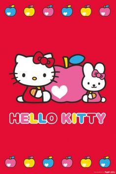 hello kitty and friends Hello Kitty Clothes, Hello Kitty Art, Hello Kitty Coloring, Hello Kitty Pictures, Hello Kitty Items, Sanrio Hello Kitty, Hello Kitty Backgrounds, Hello Kitty Wallpaper, Pink Wallpaper