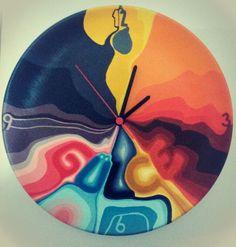 İsme özel tasarım duvar saati #saat #duvarsaati #dekoratif #decor #nüwa #nüwart #colourful #colour #hediye #gift #sopsy #zet #art #sanat #ceramik #seramik #kişiyeözeltasarım #özeltasarım #özeltasarımhediye #handmade #elyapımı #vscocam #aksesuar #istanbul #eskişehir #izmir #gülce #name #isim #ad