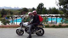 In moto al Pausania Inn