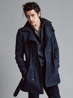 Vinnie Woolston is a Man of Style for Mango Fall/Winter 2015