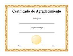 diplomas de agradecimiento para imprimir