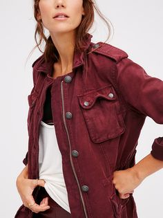 Not Your Brother's Surplus Jacket from Free People!