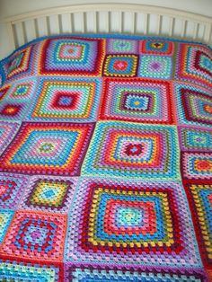 Penny's granny blanket is possibly my fave granny blanket of all times...
