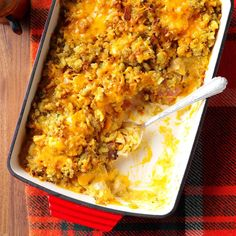 Chicken Cordon Bleu Bake Recipe -I got this recipe from a friend years ago. I freeze several half recipes in disposable pans to share with neighbors or for when I'm pressed for time myself. —Rea Newell, Decatur, Illinois