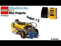 Lego Mindstorms RCX Mini Projects -- Project #3 - YouTube Lego Mindstorms, Lego Robot, Project 3, Programming, Crafts For Kids, Mini, Youtube, Crafts For Children, Kids Arts And Crafts