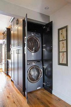 Basement Laundry Room ideas for Small Space (Makeovers) 2018 Small laundry room ideas Laundry room decor Laundry room storage Laundry room shelves Small laundry room makeover Laundry closet ideas And Dryer Store Toilet Saving Laundry Dryer, Laundry Closet, Laundry Room Organization, Laundry Room Design, Kitchen Design, Basement Laundry, Kitchen Decor, Basement Kitchen, Laundry In Kitchen
