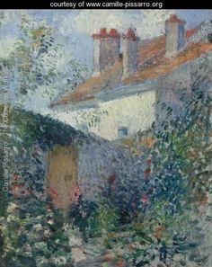 Maisons A Pontoise -   Camille Pissarro