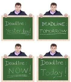 Do you always wait until the last minute to do anything? These scholarships for slackers were made just for you!