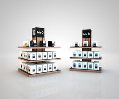 Delta Retail Displays by Francisco Pitschieller, via Behance